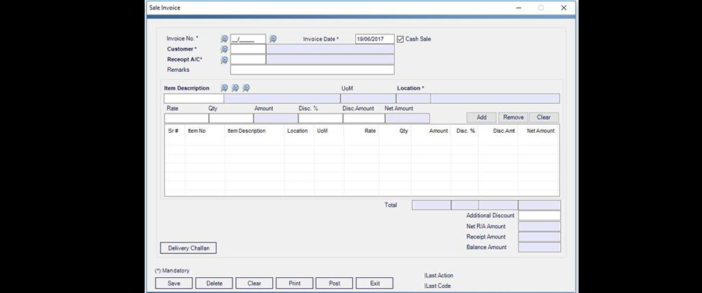 Sales Management System Nexgen